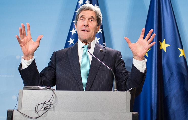 Глава госдепартамента США Джон Керри