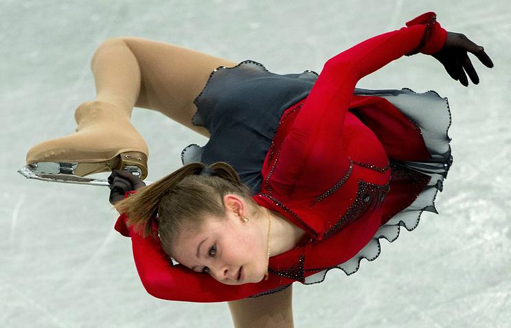 Чемпионка Европы по фигурному катанию Юлия Липницкая на Олимпиаде в Сочи будет представлять Свердловскую область
