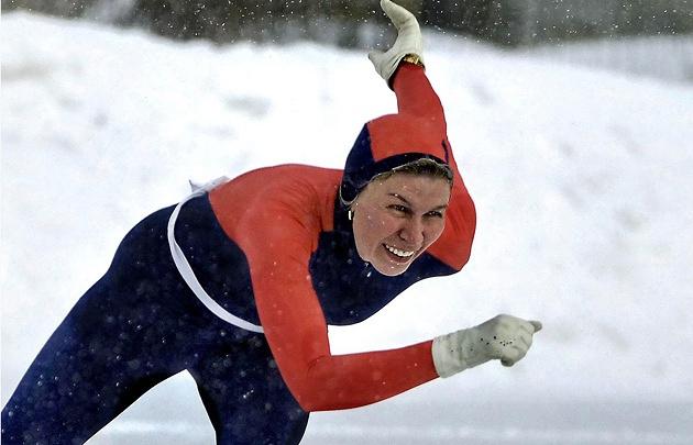 Призер Олимпийских игр 1984 года в Сараево по конькобежному спорту Наталья Шиве