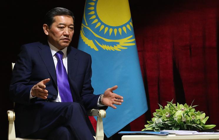 Премьер-министр Казахстана Серик Ахметов