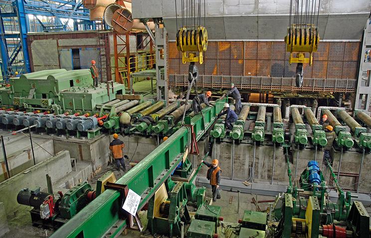 На Магнитогорском металлургическом комбинате