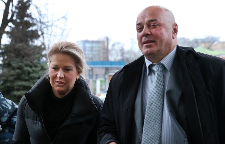 Бывшая глава Департамента имущественных отношений Минобороны РФ Евгения Васильева и ее адвокат Хасан-али Бороков