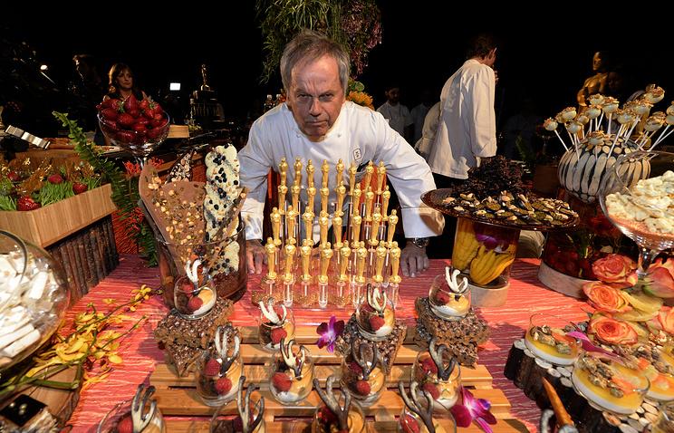 Австрийский шеф-повар Вольфганг Пак