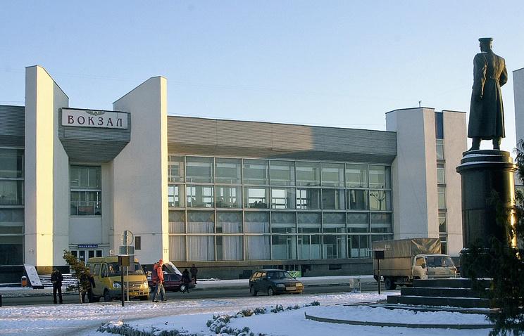 Здание вокзала в Белгороде