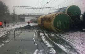 Сход вагонов в Шатурском муниципальном районе, станция Черусти