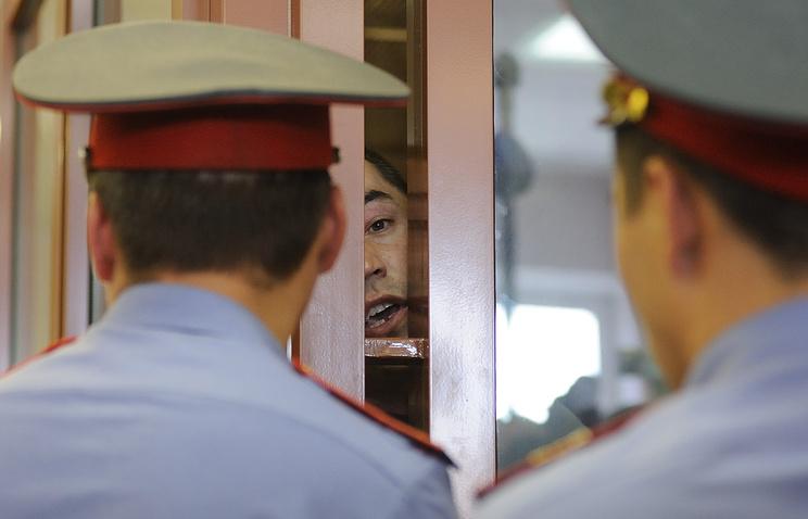 Заседание суда по делу о беспорядках в поселке Сагра. 2 августа 2012 года