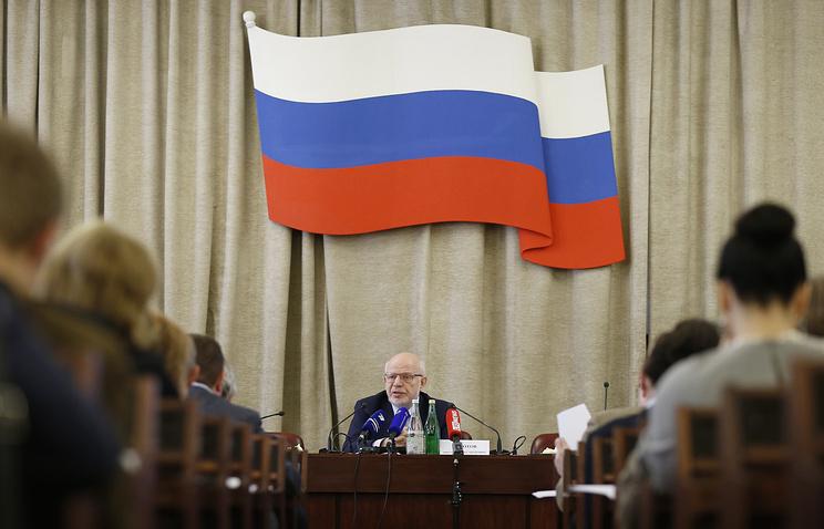 Во время специального заседания Совета при президенте по развитию гражданского общества и правам человека