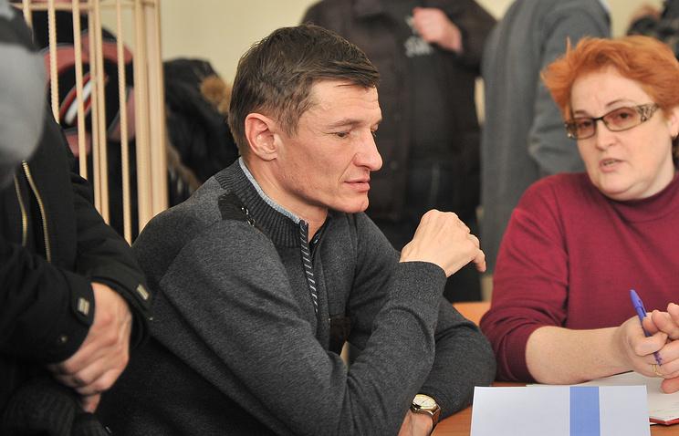 Евгений Логинов в зале суда