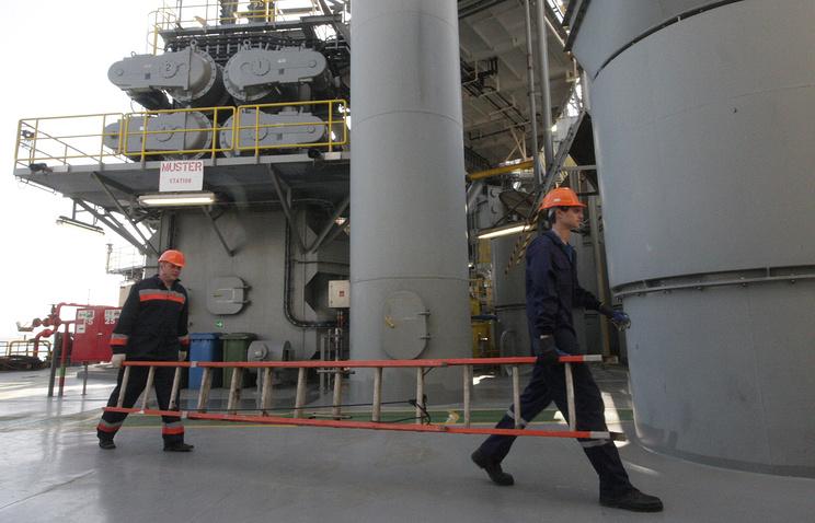 "Буровая платформа ""Черноморнефтегаза"""