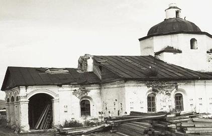 Церковь Рождества Пресвятой Богородицы в селе Кондуй Забайкальского края, 1930-е годы