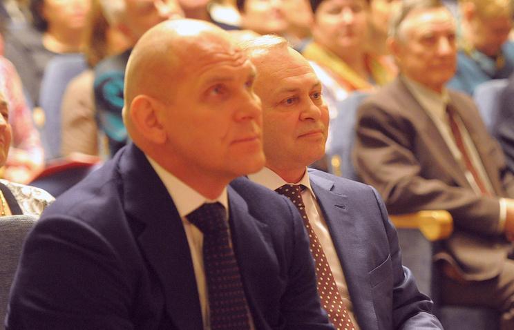 Александр Карелин и Владимир Знатков