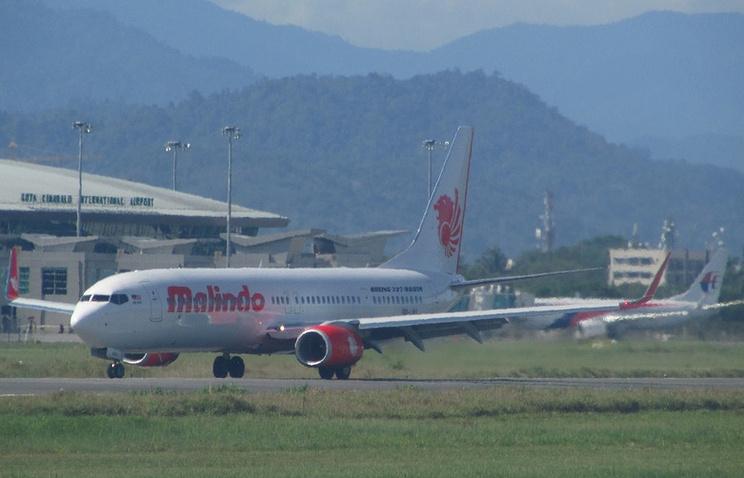 Самолет авиакомпании Malindo Air