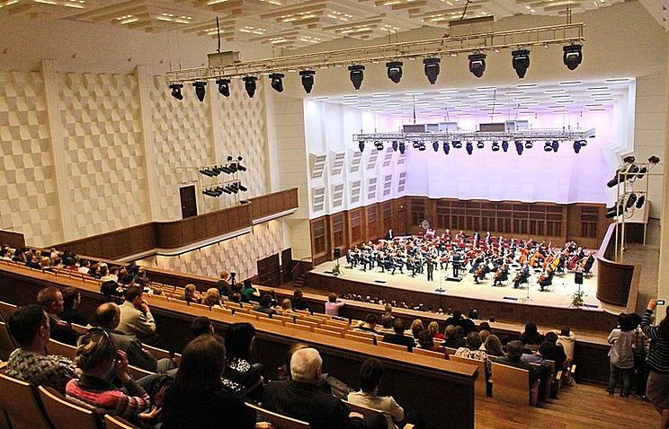 Государственный концертный зал им.Арнольда Каца Новосибирской филармонии