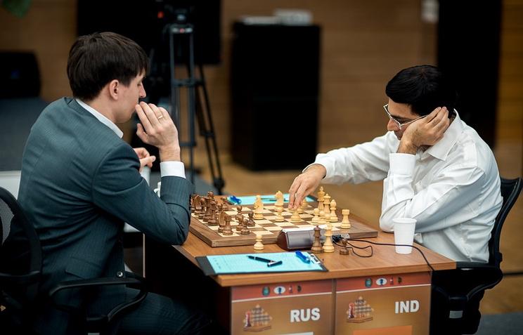 Дмитрий Андрейкин и Вишванатан Ананд
