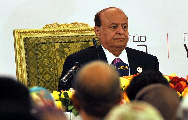 Президент Йемена Абд Раббу Мансур Хади