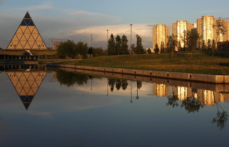 Астана, Казахстан, 2013 год
