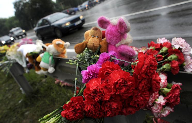 На месте аварии с участием автобуса и грузовика под Подольском