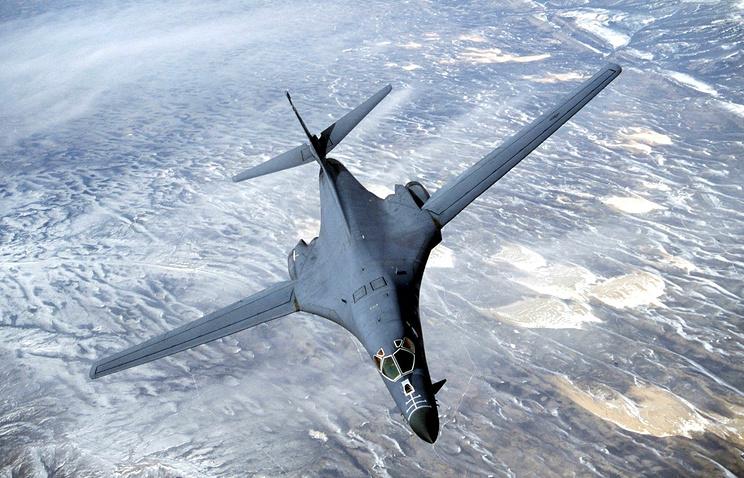 Бомбардировщик B-1B ВВС США