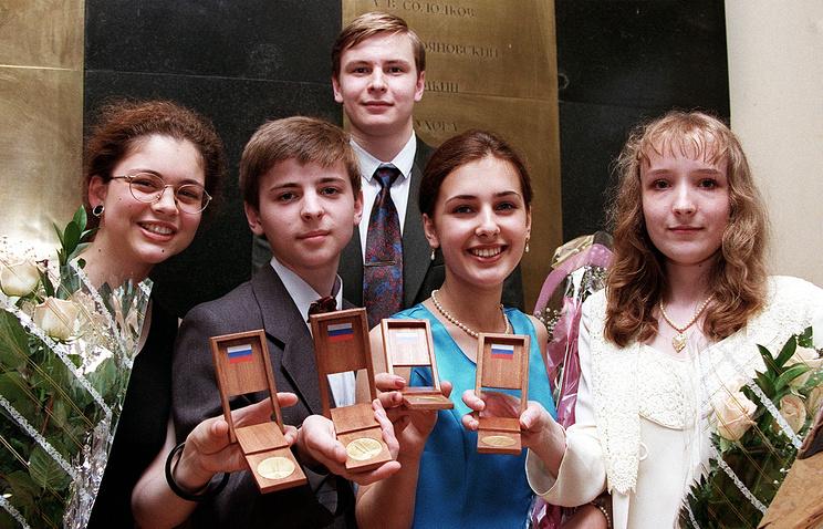 Выпускники школ с золотыми медалями, 1997 год
