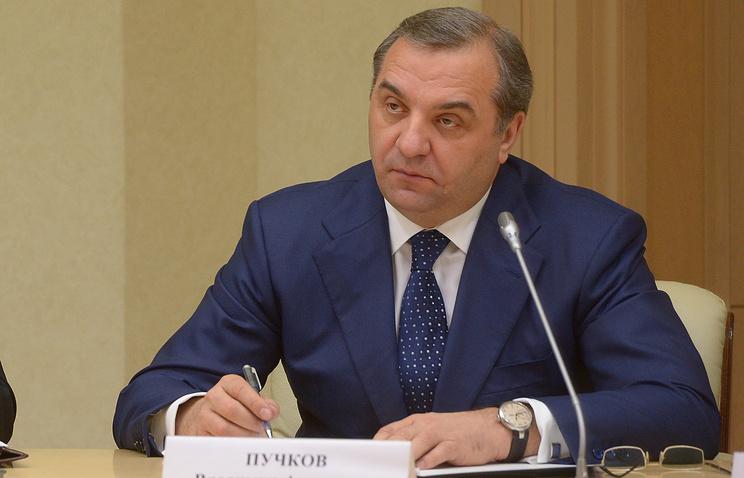 Министр РФ по делам гражданской обороны, чрезвычайным ситуациям и ликвидации последствий стихийных бедствий Владимир Пучков