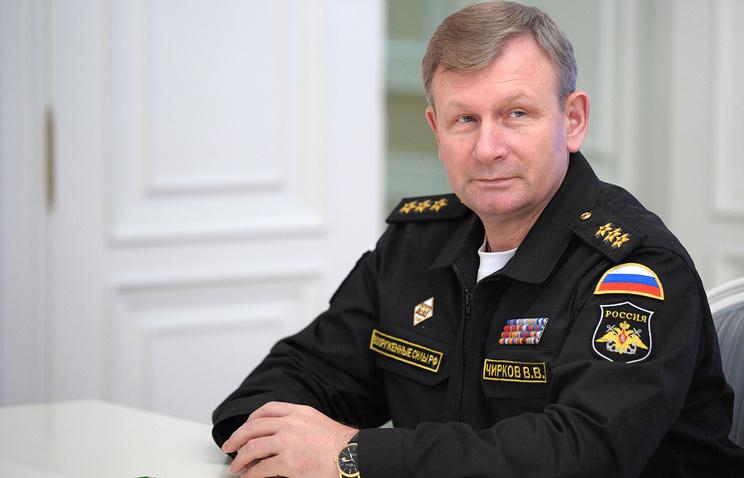 Главком ВМФ РФ Виктор Чирков