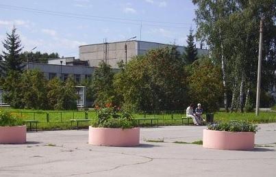 Здание Новосибирского завода искусственного волокна