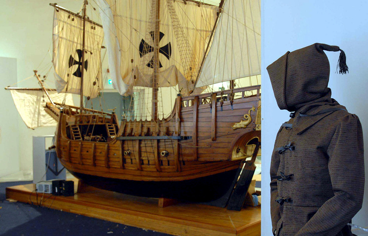 "Модель флагманского корабля ""Санта Мария"""