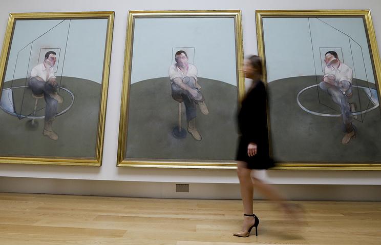 """Триптих Фрэнсиса Бэкона """"Три наброска к портрету Джона Эдвардса"""""""