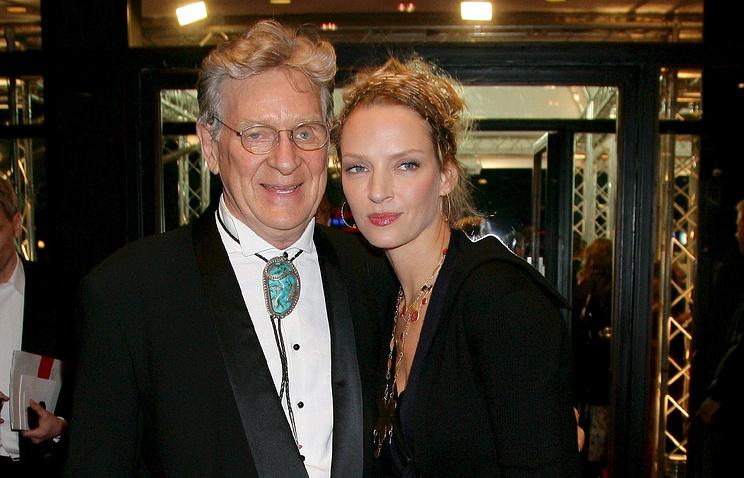 Роберт и Ума Турман