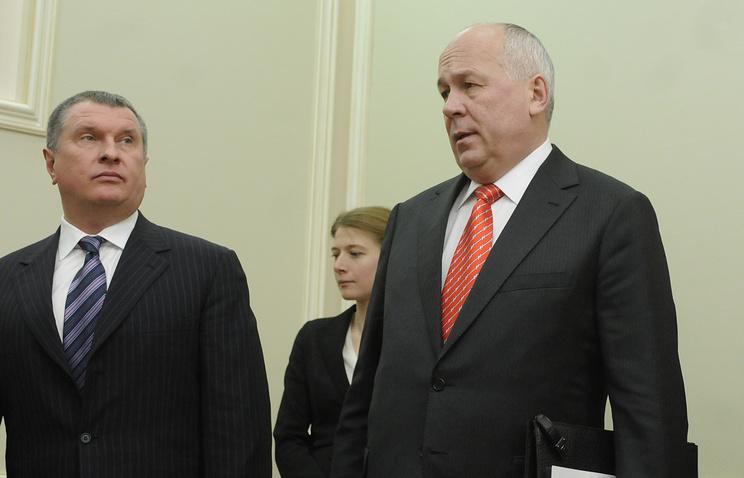 Игорь Сечин и Сергей Чемезов