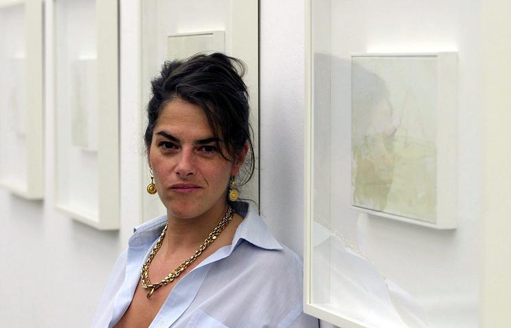 """Трейси Эмин, автор инсталляции """"Моя кровать"""""""