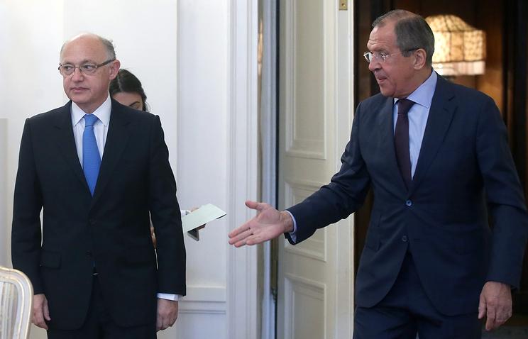Эктор Тимерман и Сергей Лавров