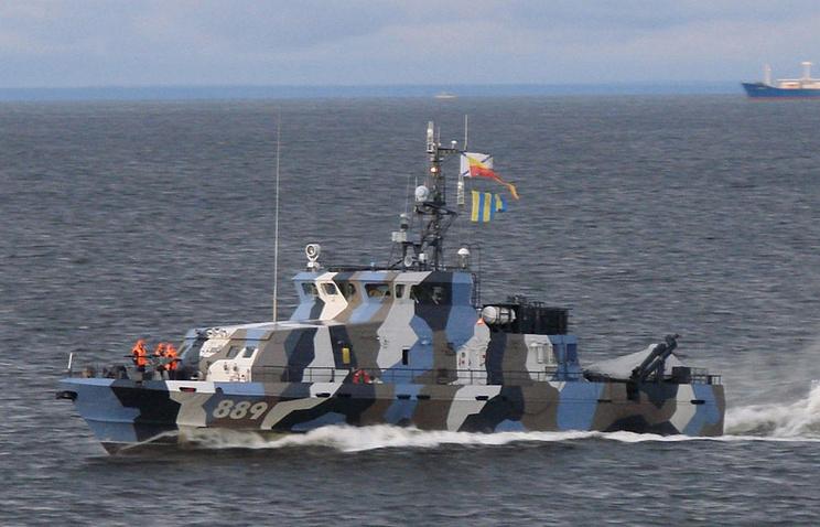 """Противодиверсионный катер """"П-104"""""""
