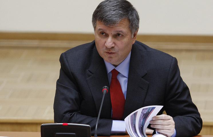 Назначенный Верховной радой министром внутренних дел Арсен Аваков