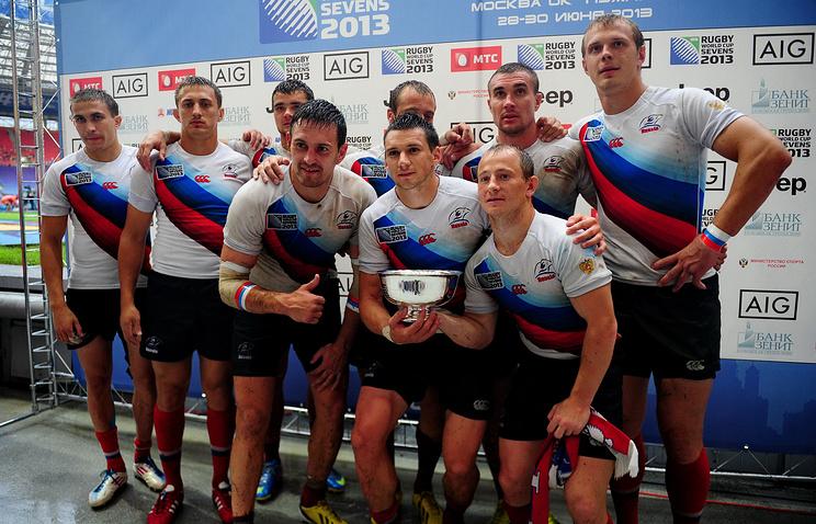 Регбисты сборной России