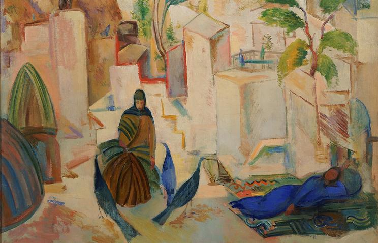 Павел Кузнецов, Восточный город. Бухара, середина 1910-х гг. (1 900 000-3 000 000 GBP)