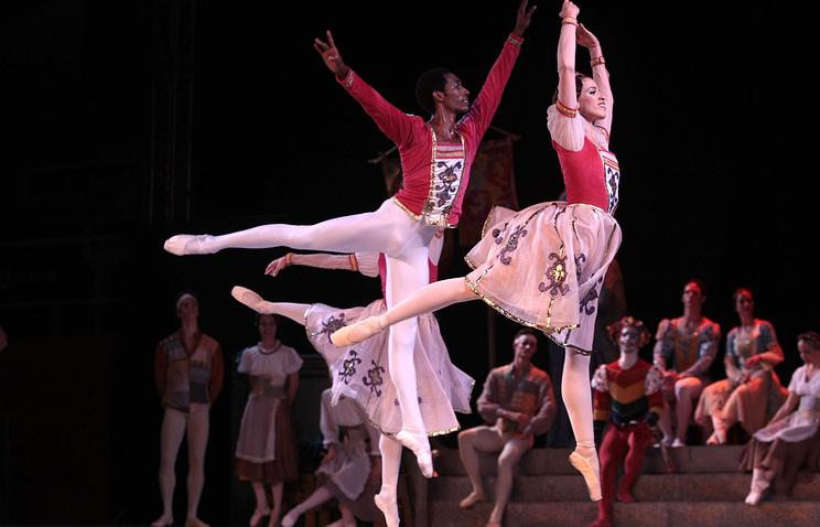 Выступление Национального балета Кубы