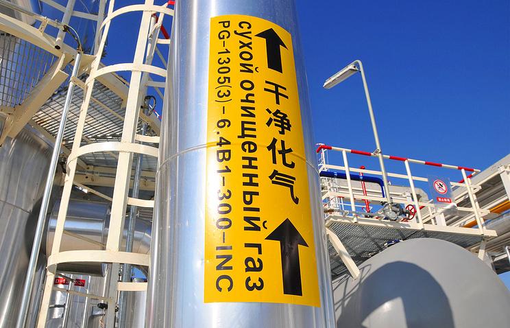 Труба газопровода Туркменистан-Узбекистан-Казахстан-Китай