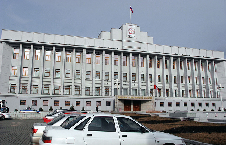 Здание администрации Омской области