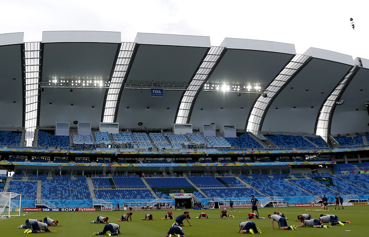 Футбольный стадион в Натале