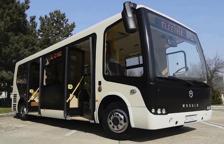 Модульный низкопольный автобус нового поколения