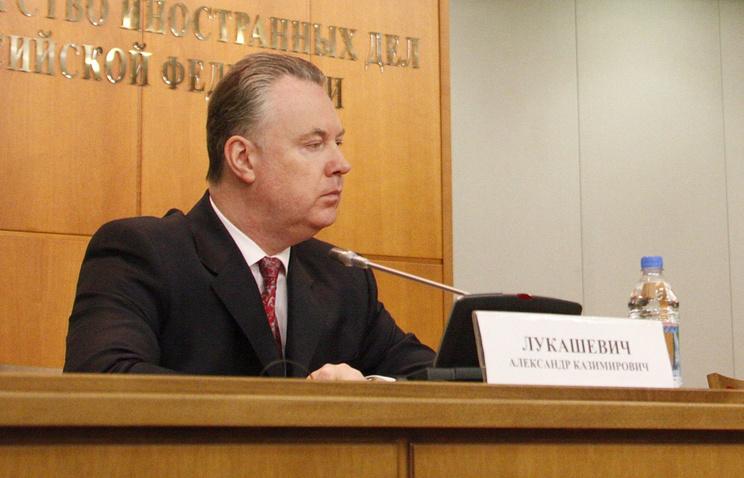 Официальный представитель МИД РФ  в СБ ООН Александр Лукашевич