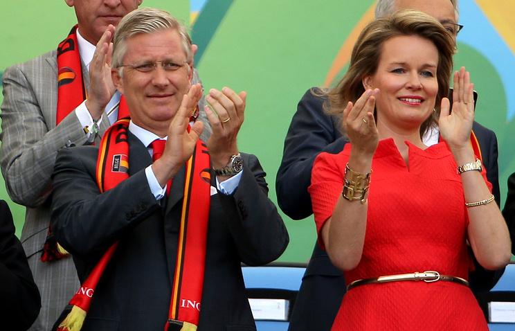 Король Бельгии Филипп и королева Матильда
