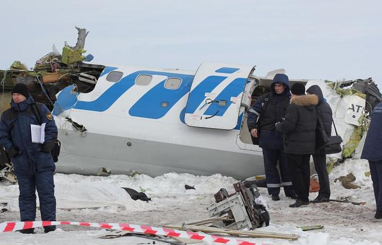 """На месте крушения пассажирского самолета ATR-72 авиакомпании """"ЮТэйр"""". Апрель 2012 года"""