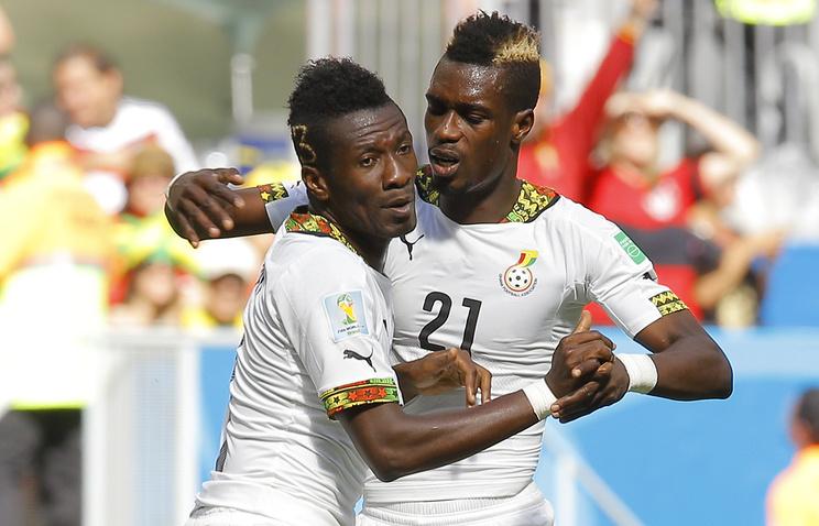 Игроки сборной Ганы