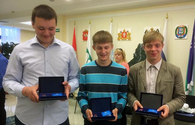 Максим Мурашов, Андрей Березин и Тимур Начкевия