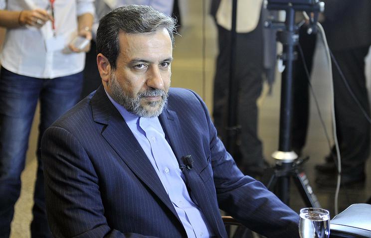 Министр иностранных дел Ирана Аббас Арагчи