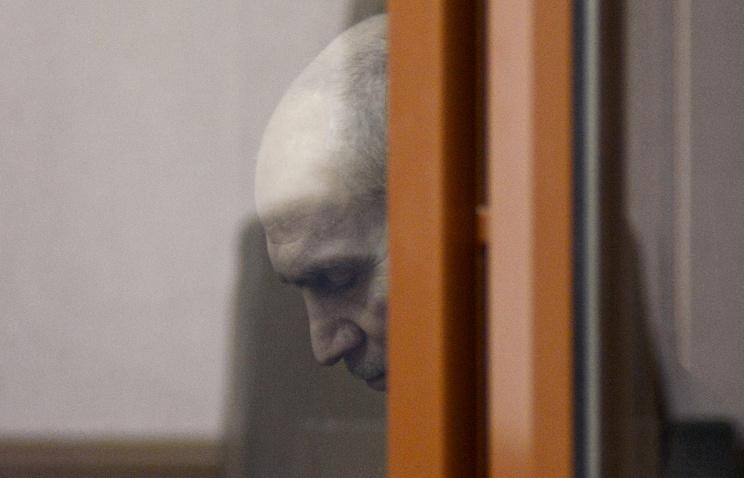 Леонид Хабаров в зале Свердловского областного суда