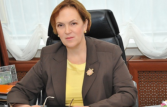 Министр строительного комплекса Московской области Марина Оглоблина