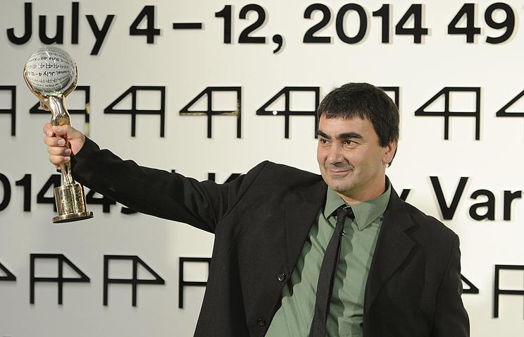 Георги Овашвили с главным призом кинофестиваля в Карловых Варах